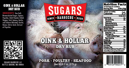 Oink and Hollar Label
