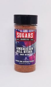 American All Star Rub