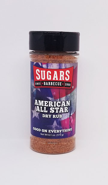 American All Star Rub