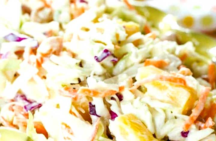 pineapple coleslaw